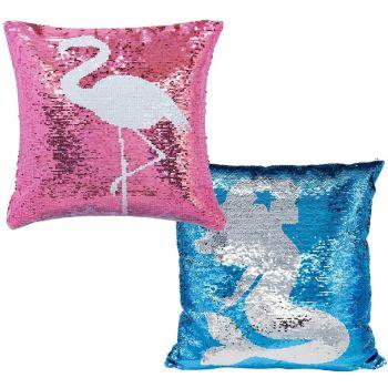 Magic Flip Reveal Sequin Plush Cushions