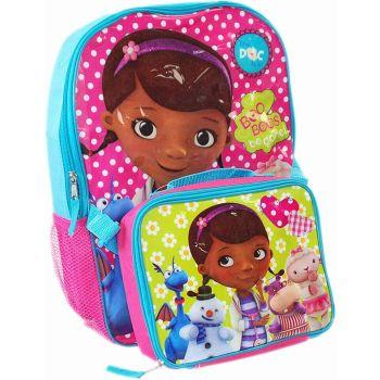 Doc McStuffins Official Kids Children Large School Travel Rucksack