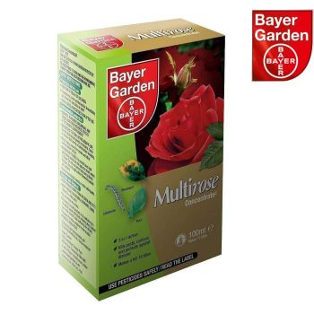 Bayer Garden Multirose Concentrate Insecticide 100ml - Multi Buy