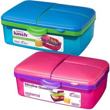 Sistema limline Quaddie Lunchbox  - Phthalate & BPA Free