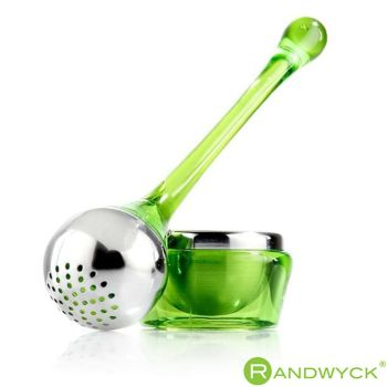 Randwyck Contemporary Teapop Loose Tea Infuser With Holder