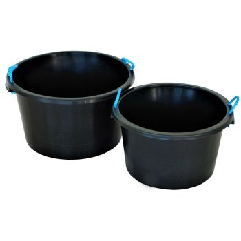 Multipurpose Tub Buckets with Rope Handles