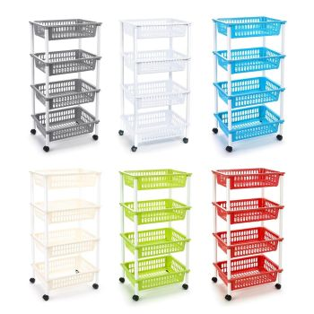 Multi Purpose Kitchen & Household Storage Racks Trays Baskets