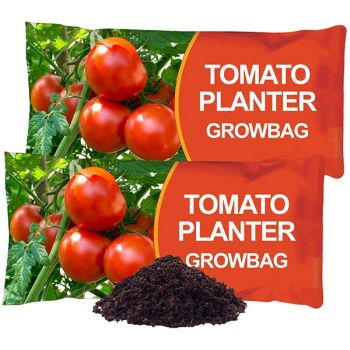 Tomato Planter Nutrient Enriched Compost Grow Bags