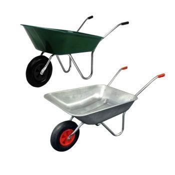 Garden Wheelbarrow with Pnuematic tyre