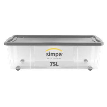 Wheeled Storage Box - Multi Buy