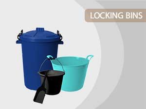 locking bins